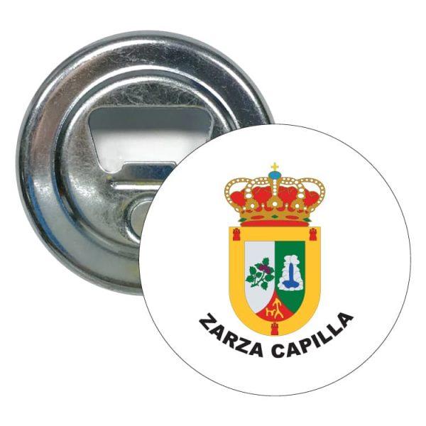 abridor redondo escudo heraldico zarza capilla