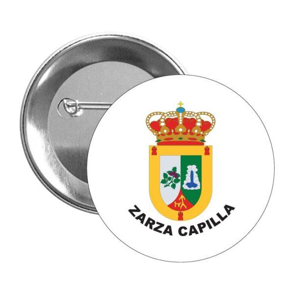 chapa escudo heraldico zarza capilla