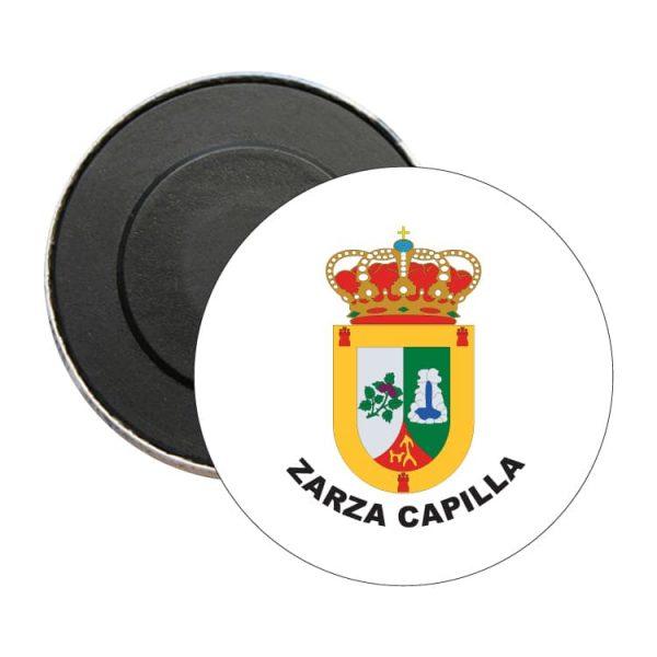 iman redondo escudo heraldico zarza capilla