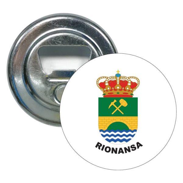 abridor redondo escudo heraldico rionansa