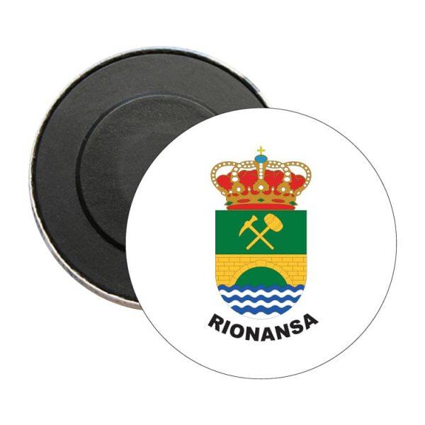 iman redondo escudo heraldico rionansa