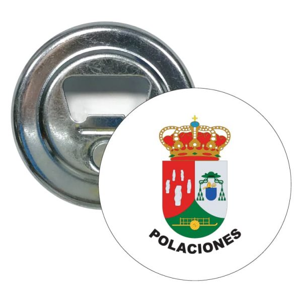 abridor redondo escudo heraldico polaciones