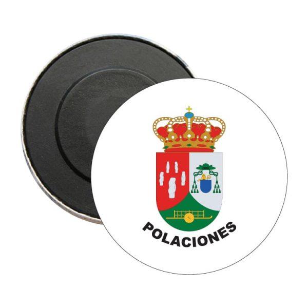 iman redondo escudo heraldico polaciones
