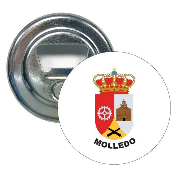 abridor redondo escudo heraldico molledo