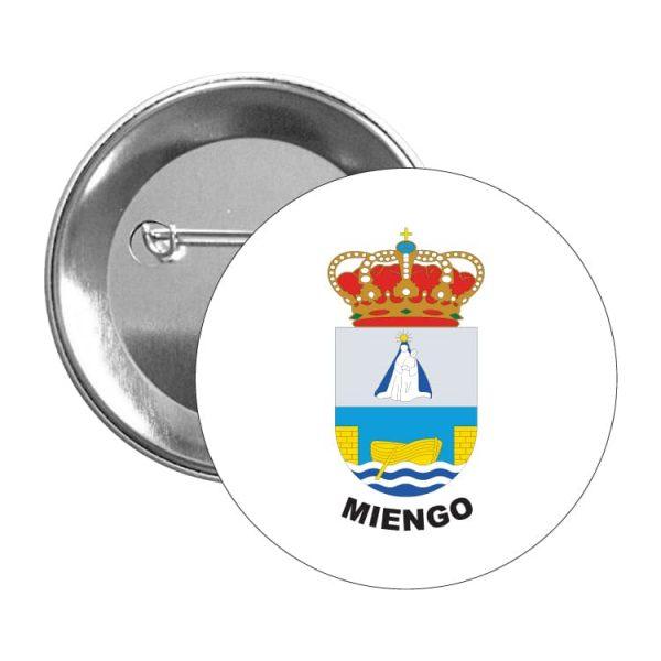 chapa escudo heraldico miengo
