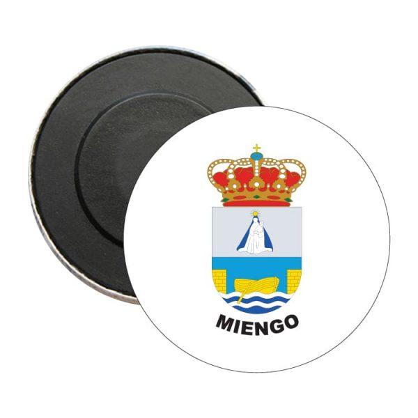 iman redondo escudo heraldico miengo