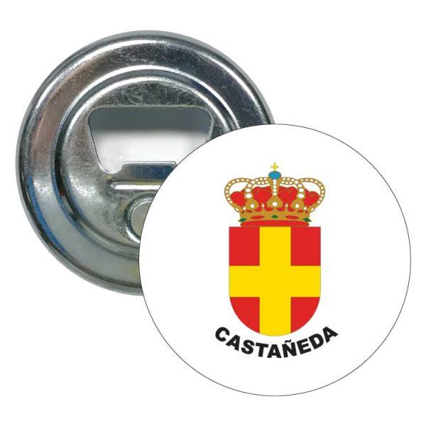 abridor redondo escudo heraldico castañeda