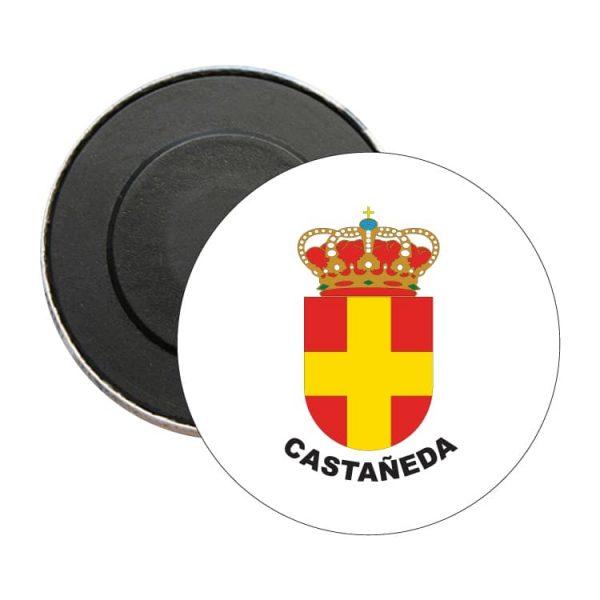 iman redondo escudo heraldico castañeda