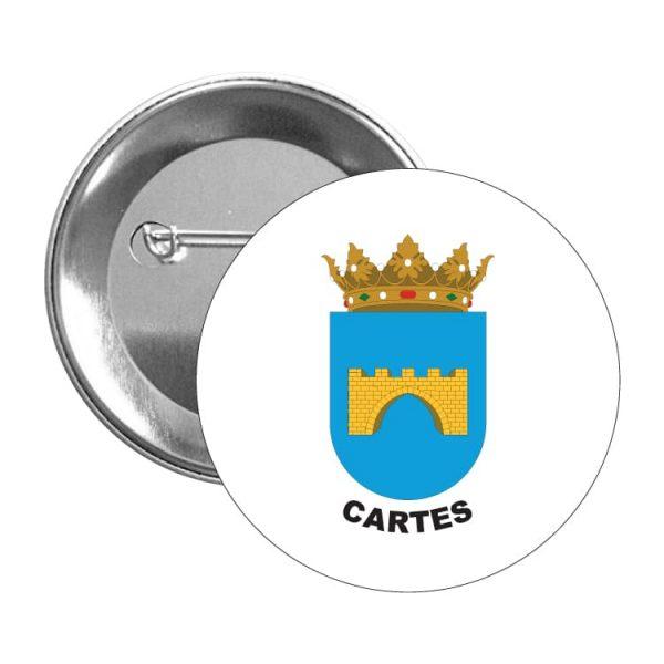 chapa escudo heraldico cartes