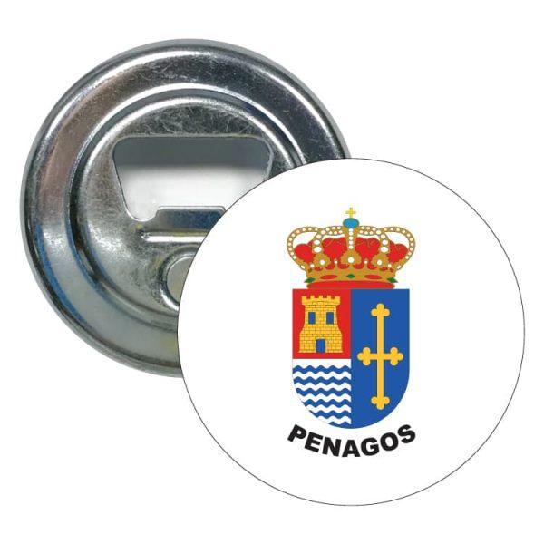abridor redondo escudo heraldico penagos