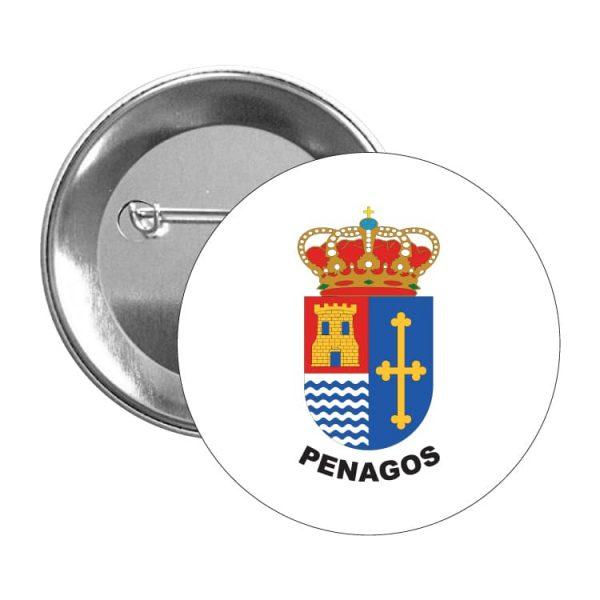 chapa escudo heraldico penagos
