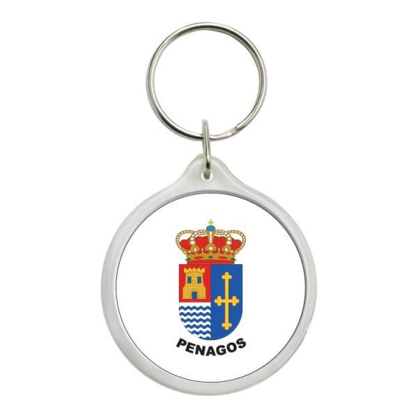 llavero redondo escudo heraldico penagos