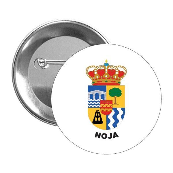 chapa escudo heraldico noja