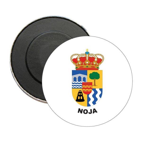 iman redondo escudo heraldico noja