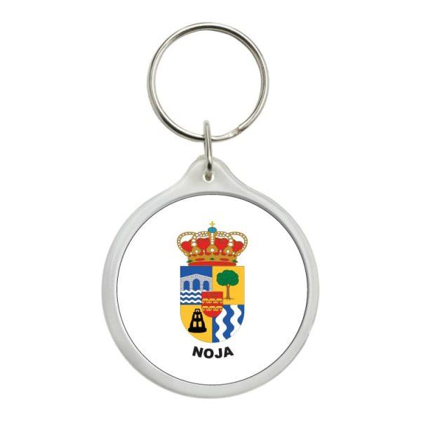 llavero redondo escudo heraldico noja