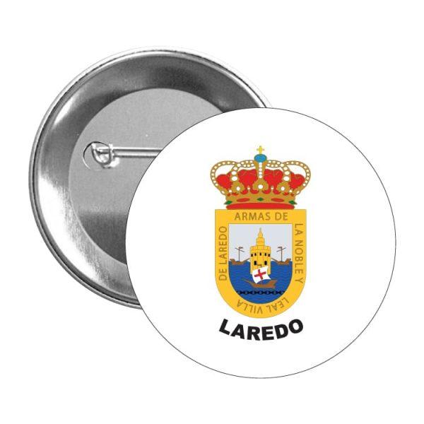 chapa escudo heraldico laredo