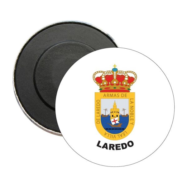 iman redondo escudo heraldico laredo