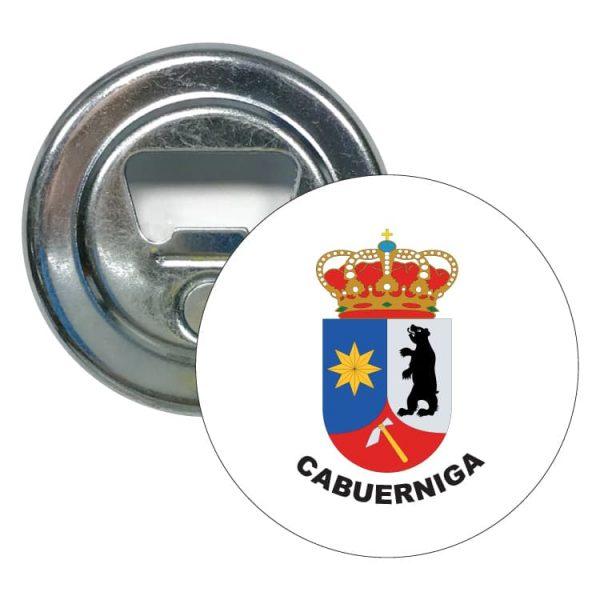 abridor redondo escudo heraldico cabuerniga