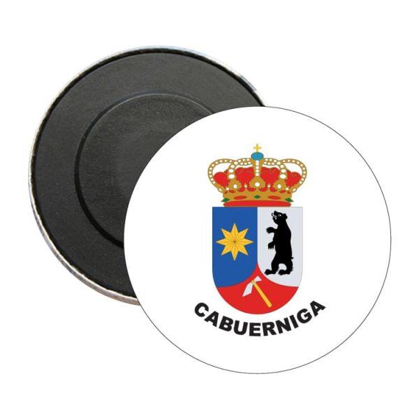 iman redondo escudo heraldico cabuerniga