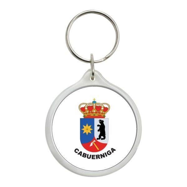 llavero redondo escudo heraldico cabuerniga