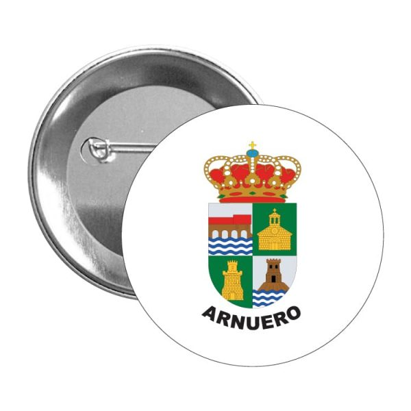 chapa escudo heraldico arnuero