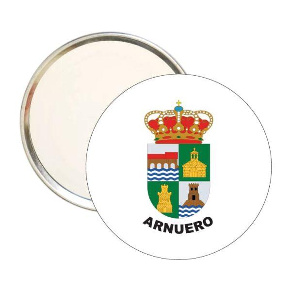 espejo redondo escudo heraldico arnuero