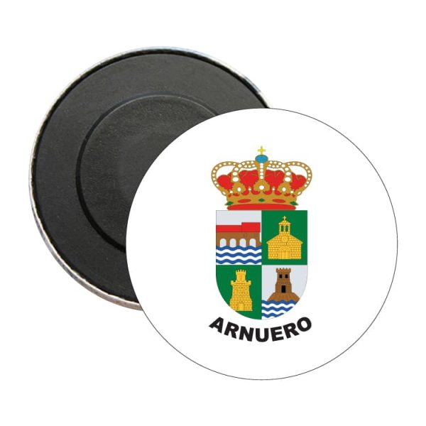 iman redondo escudo heraldico arnuero