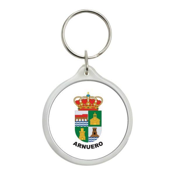 llavero redondo escudo heraldico arnuero