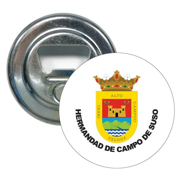 abridor redondo escudo heraldico hermandad de campo de suso