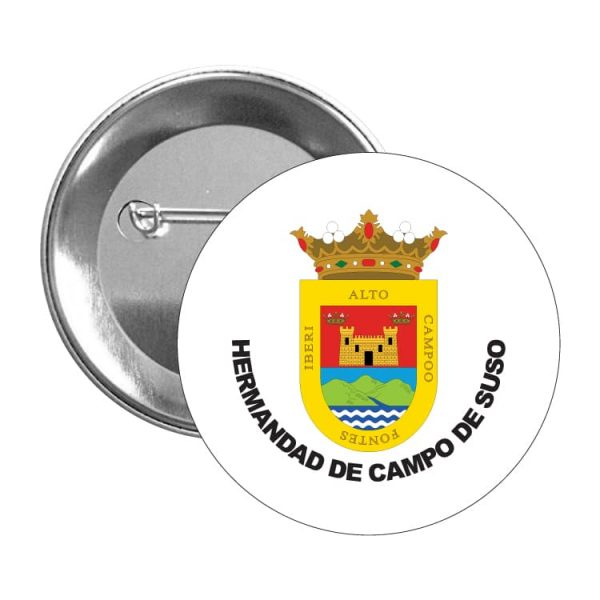 chapa escudo heraldico hermandad de campo de suso
