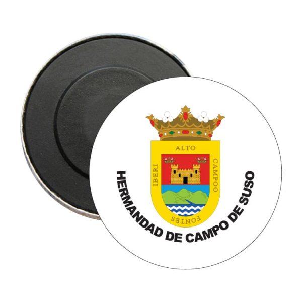 iman redondo escudo heraldico hermandad de campo de suso