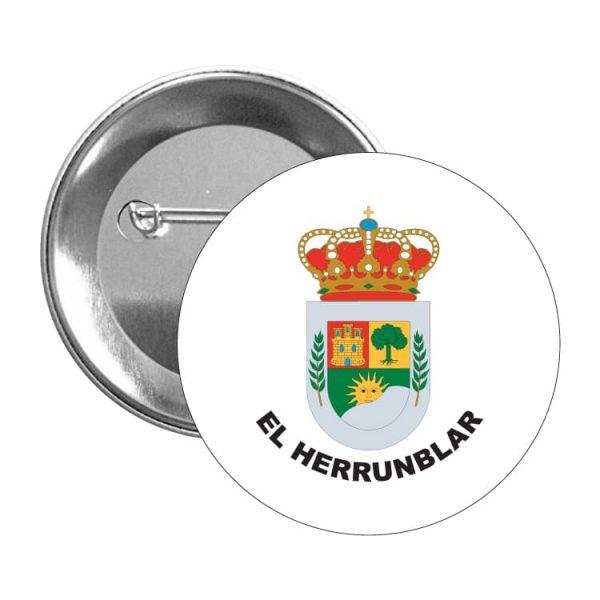 chapa escudo heraldico el herrunblar
