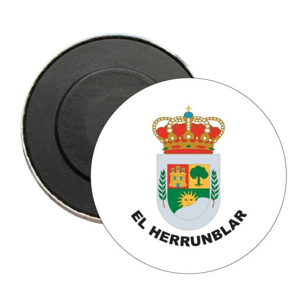 iman redondo escudo heraldico el herrunblar