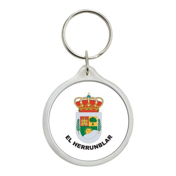 llavero redondo escudo heraldico el herrunblar