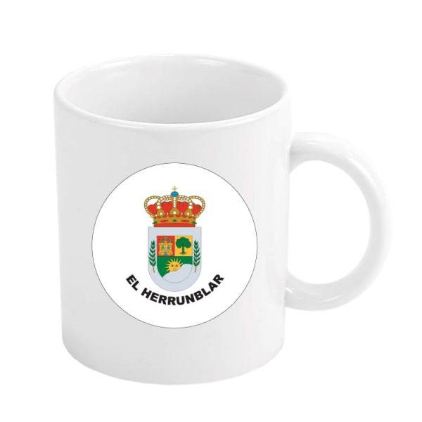 taza escudo heraldico el herrunblar