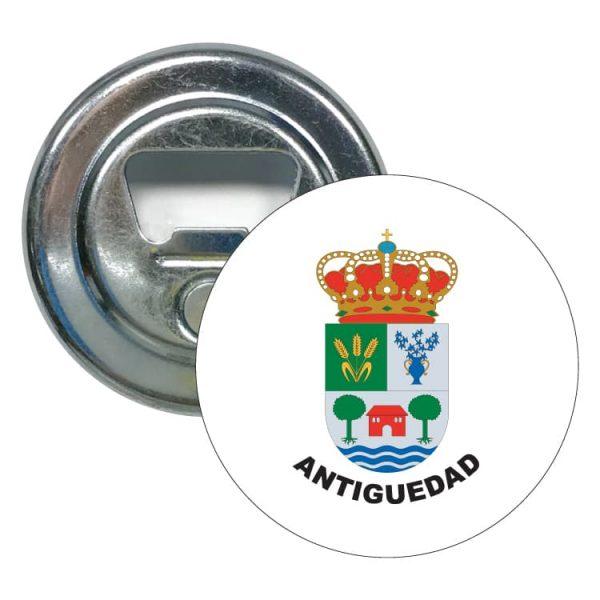 abridor redondo escudo heraldico antiguedad