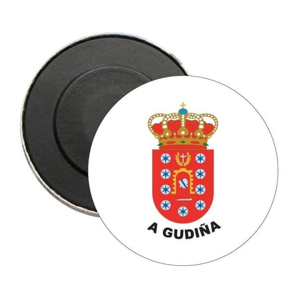 iman redondo escudo heraldico a gudiña