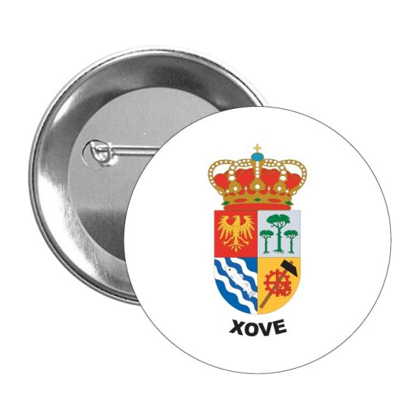 chapa escudo heraldico xove