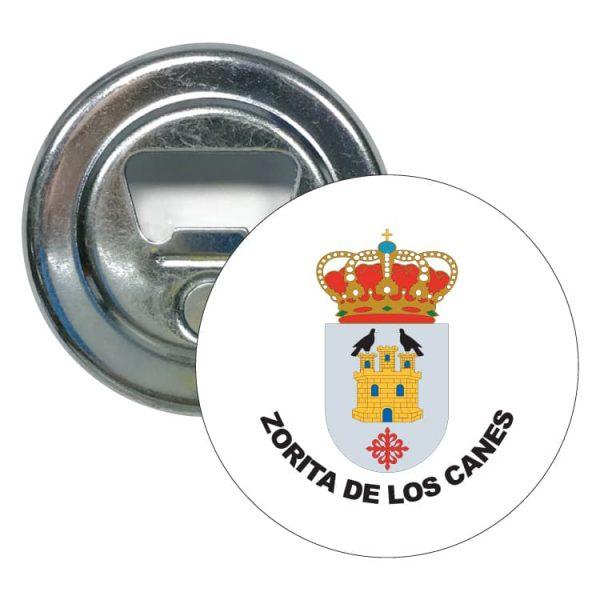 abridor redondo escudo heraldico zorita de los canes