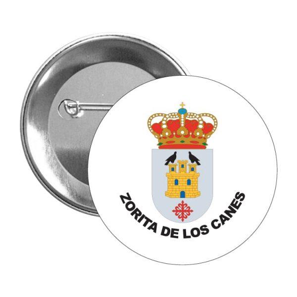 chapa escudo heraldico zorita de los canes