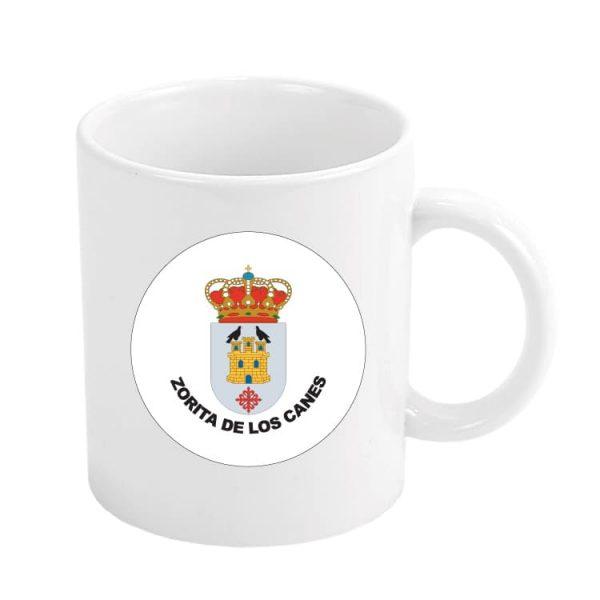 taza escudo heraldico zorita de los canes