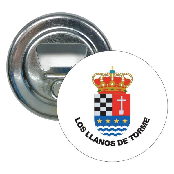 abridor redondo escudo heraldico los llanos de torme