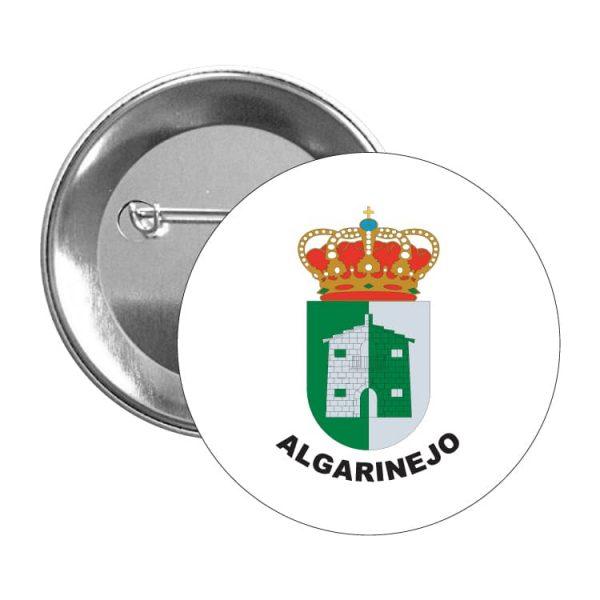 chapa escudo heraldico algarinejo