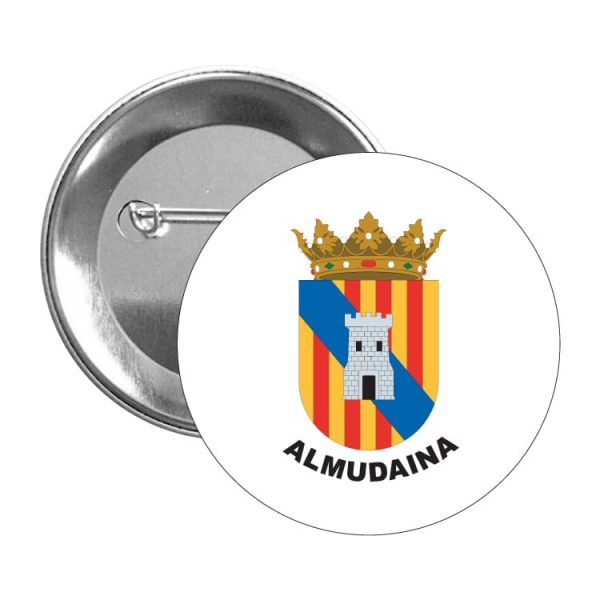 chapa escudo heraldico almudaina