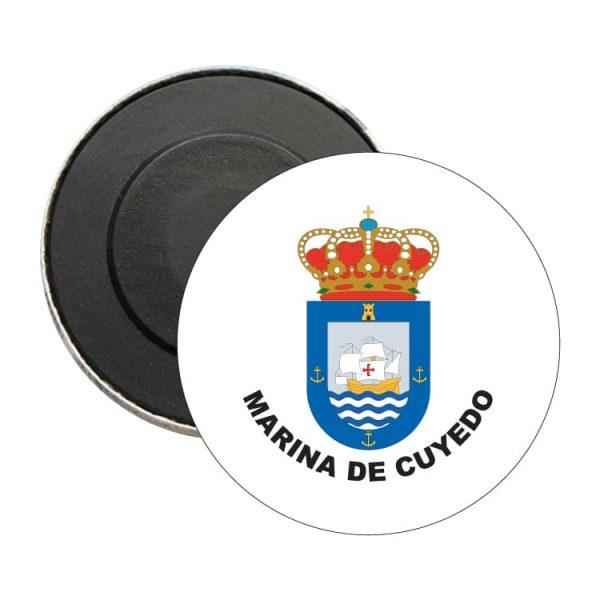 iman redondo escudo heraldico marina de cuyedo