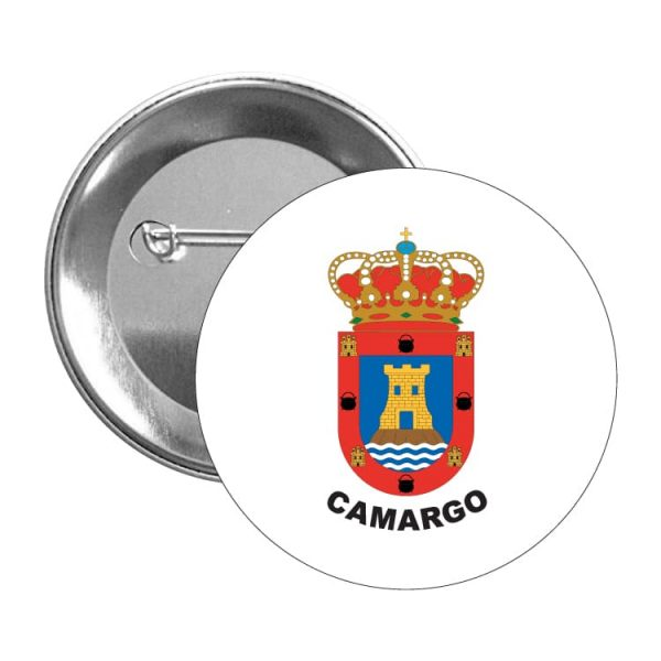 chapa escudo heraldico camargo