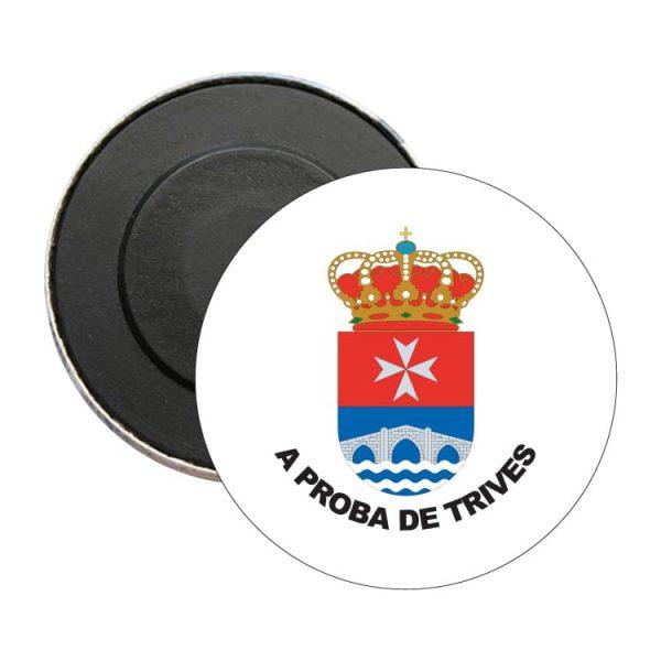 iman redondo escudo heraldico a prota de trives
