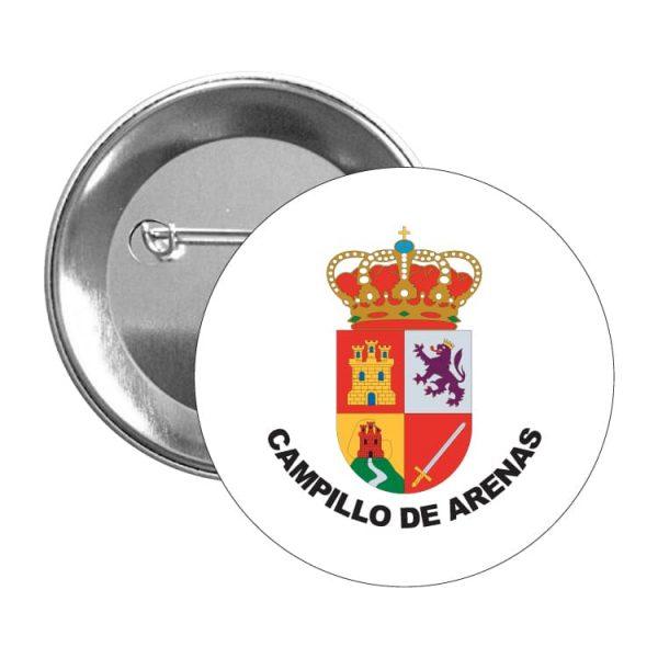 chapa escudo heraldico campillo de arenas