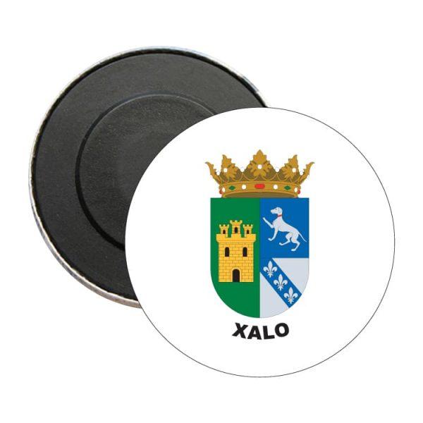 iman redondo escudo heraldico xalo