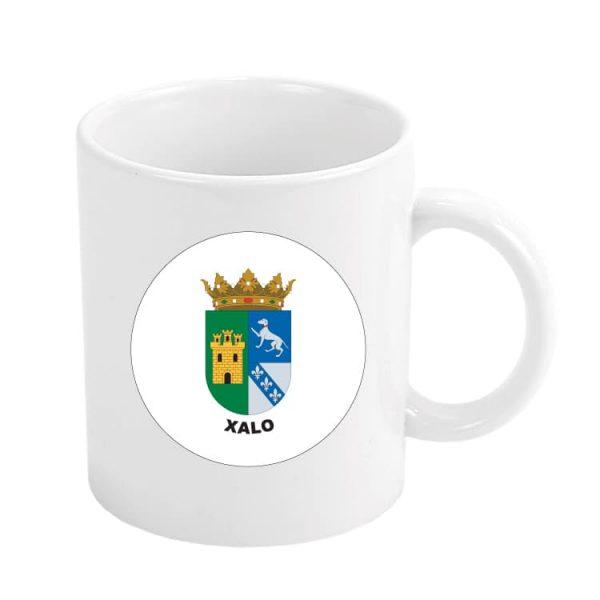 taza escudo heraldico xalo